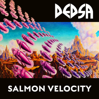 Salmon Velocity Cover Front